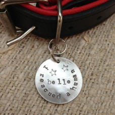 Dogeared I.D. Silver Pet Tags Large