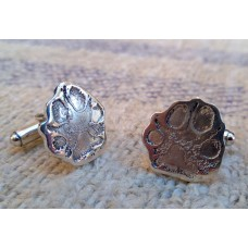 Little Paw-Print Cufflinks